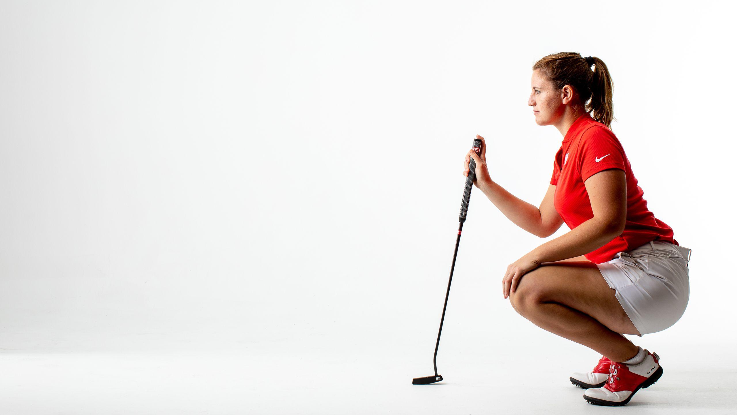 Harm S Way Uh Golf Star Leonie Harm Finds Adversity Par For The Course